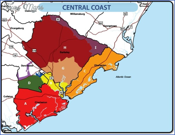 south carolina map zone 4 SOUTH CAROLINA MAP ZONE