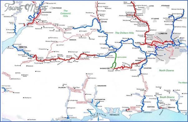 uk canal maps 0 Uk Canal Maps