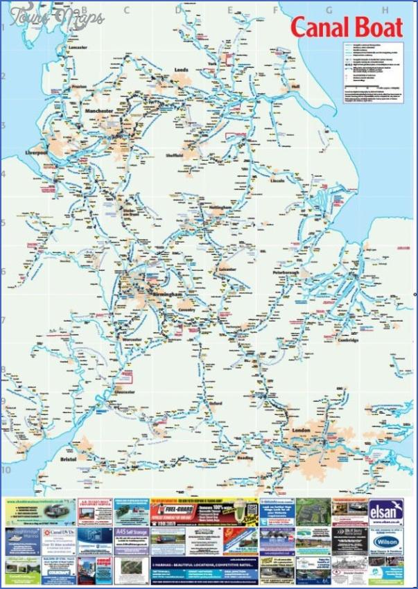 uk canal maps 2 Uk Canal Maps