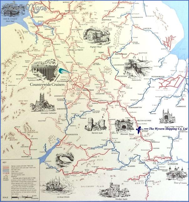 uk canal maps 4 Uk Canal Maps