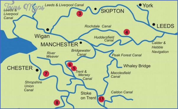 uk canal maps 9 Uk Canal Maps