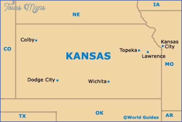 Wichita Kansas Map   ToursMaps.®