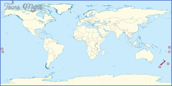 1280px new zealand in the world svg World Map With New Zealand