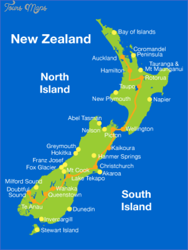 Lord Of The Rings New Zealand Map Toursmaps Com