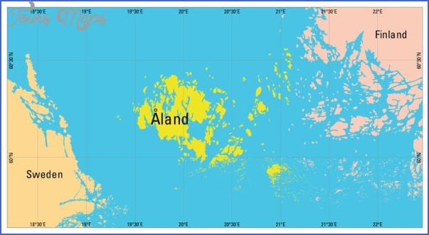aland island Where Is New Zealand Located On A World Map