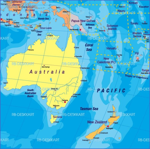 auckland world map 1 New Zealand On World Map