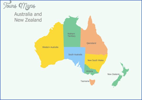 australia and new zealand 12 New Zealand And Australia Map