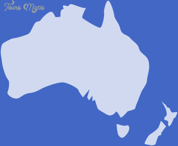 australia and new zealand map outline white 75 Blank Map Of Australia And New Zealand