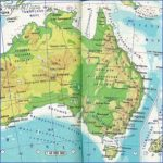 australia physical map of australia and new zealand atlas maps on the web 300x300 150x150 Australia And New Zealand Physical Map