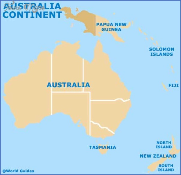 australia map continent Airports In New Zealand Map