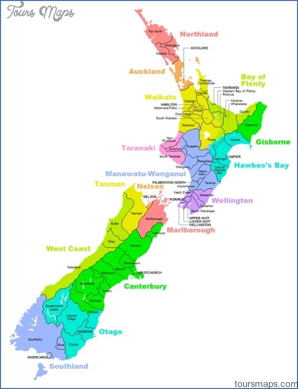 Cambridge New Zealand Map ToursMapscom