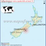 christchurch in ruins quak 150x150 Christchurch New Zealand Map