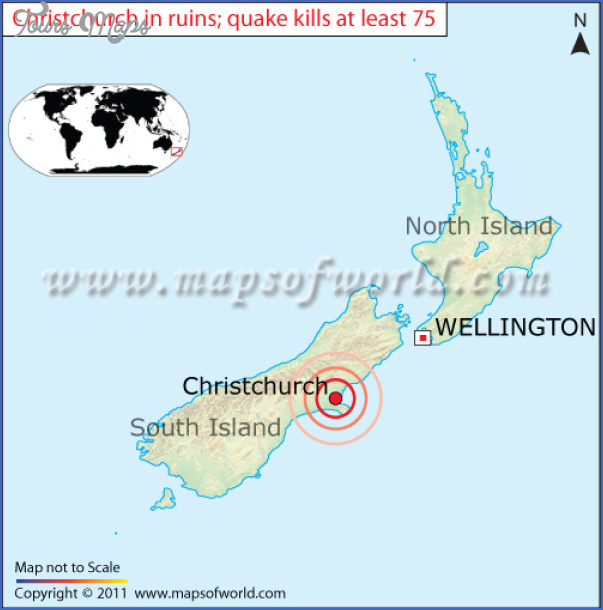 Map Of New Zealand Christchurch.Christchurch New Zealand Map Toursmaps Com