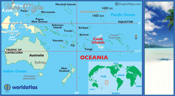 cookisloceania Where Is New Zealand On The World Map
