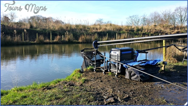 harry winter match fishing setup Winter Canal Fishing Tips