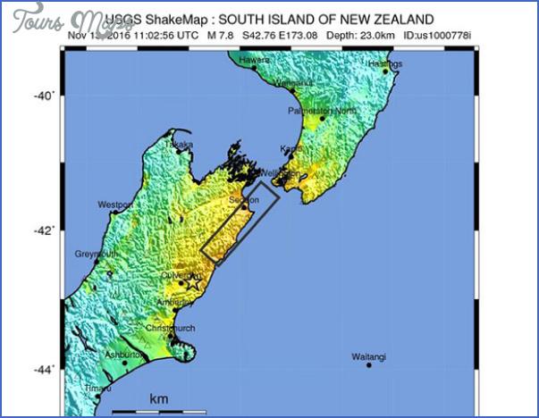 kaikoura 1 small Kaikoura New Zealand Map