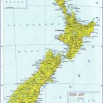 large detailed political map of new zealand with roads and cities in russian for free 150x150 Detailed Map Of New Zealand