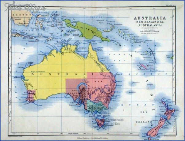 lkm006 3 Australia And New Zealand Map