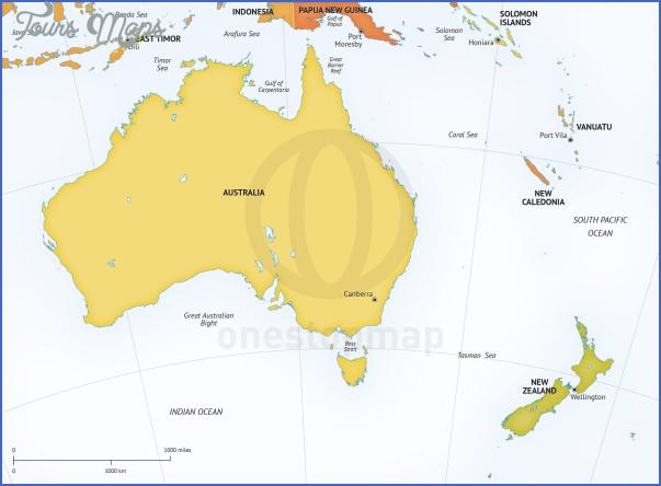 map australia and new zealand 11 Map Australia And New Zealand