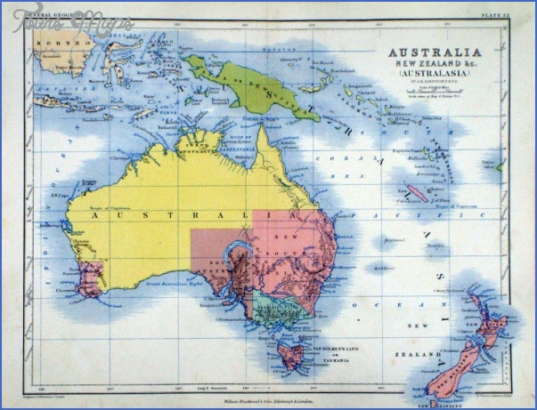 map australia and new zealand 13 Map Australia And New Zealand