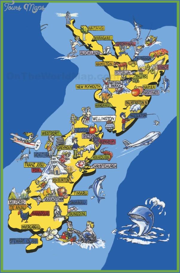map new zealand 0 Map New Zealand