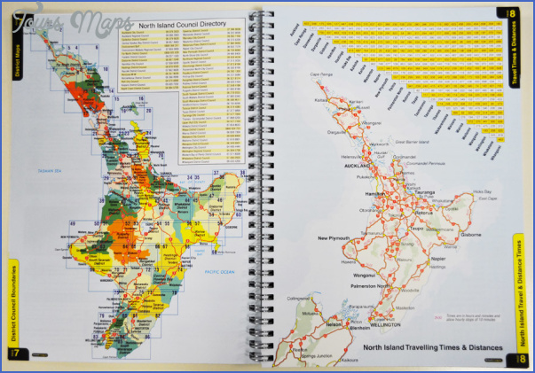 map north island new zealand 0 Map North Island New Zealand