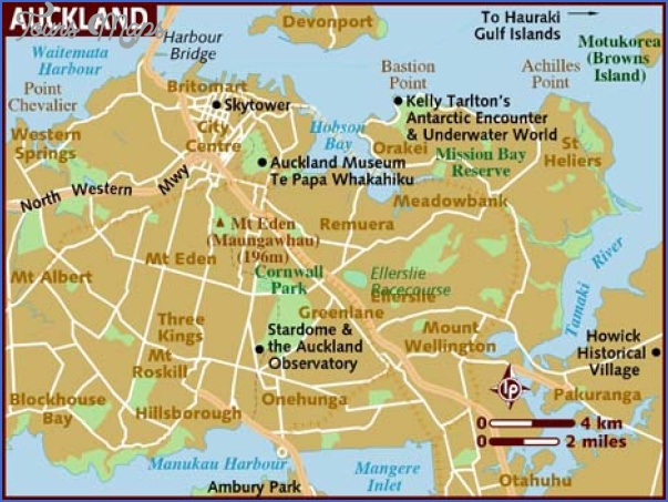 map of auckland Where Is Auckland New Zealand On The Map