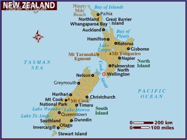 map of new zealand Christchurch New Zealand Map