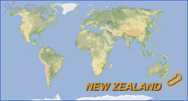 map world 1 World Map Of New Zealand