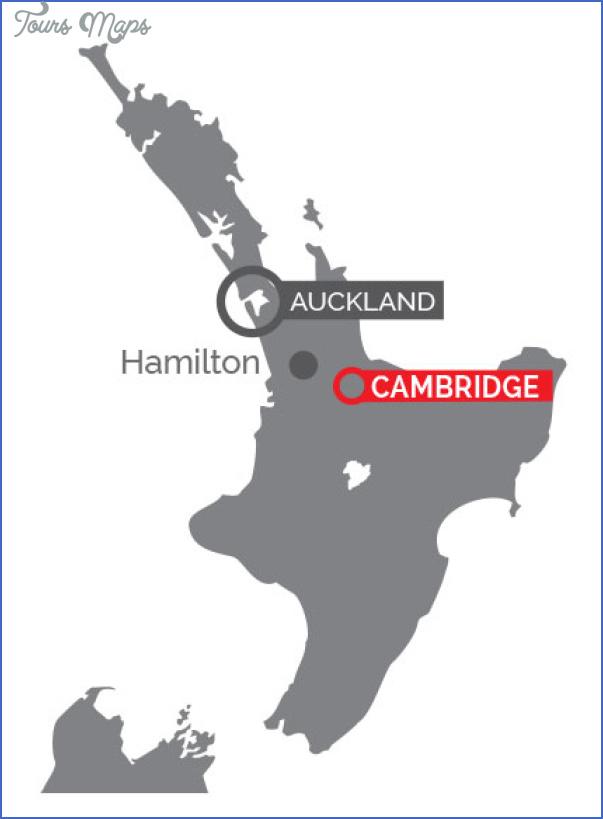 mapofnz Hamilton New Zealand Map