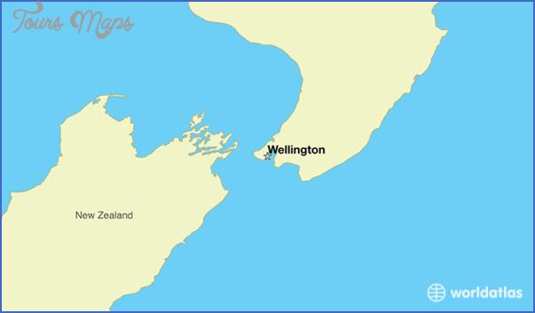 new zealand capital wellington 2 World Map Of New Zealand