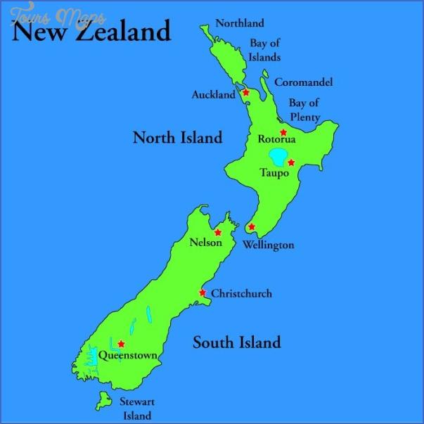 new zealand city map 4 New Zealand City Map