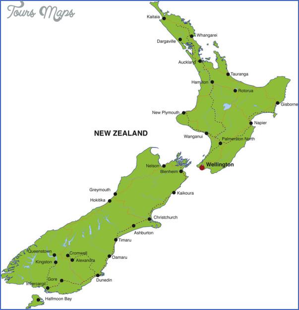 new zealand city map 6 New Zealand City Map