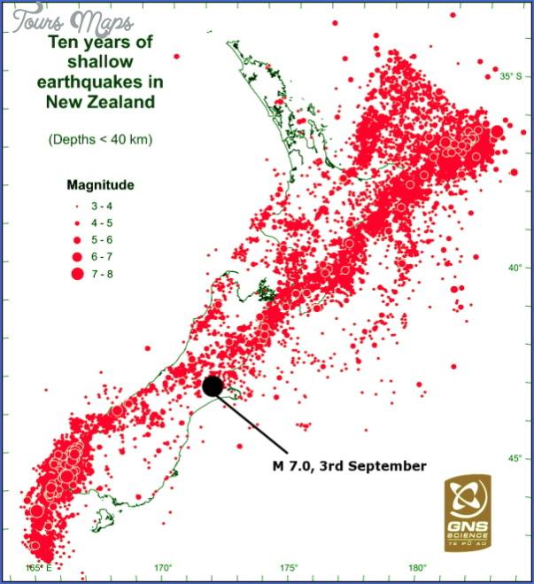 new zealand earthquake map 1 New Zealand Earthquake Map