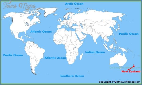 new zealand location map 2 New Zealand Location On Map