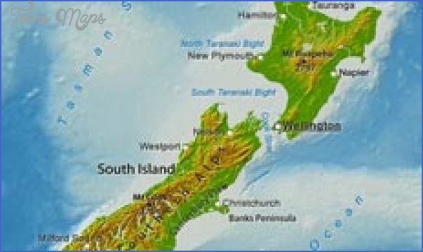 new zealand physical 230 Where Is New Zealand Located On The World Map