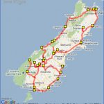 new zealand south island itinerary map 150x150 Map Of South New Zealand