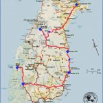 new zealand south island route part1 150x150 Map Of South New Zealand