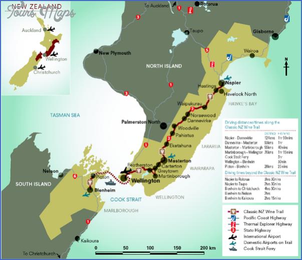 new zealand wine trail map mediumthumb pdf New Zealand Wine Map