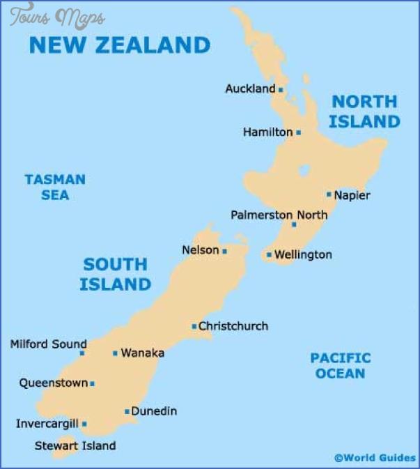 new zealand map 3 Queenstown New Zealand Map