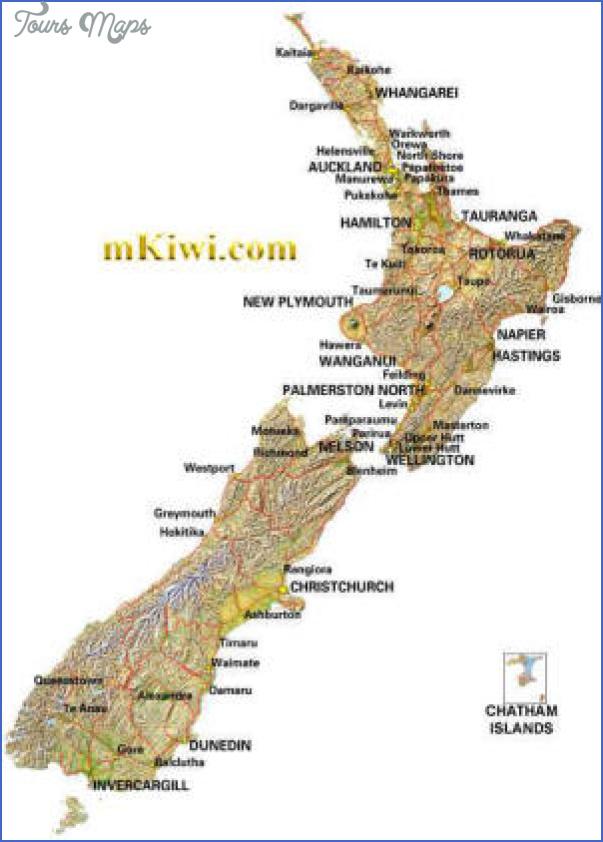 new zealand map small Oamaru New Zealand Map
