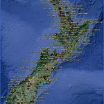 newzealand 2 150x150 Map Of New Zealand Airports