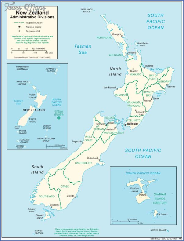 newzealandadministrativemap New Zealand Political Map