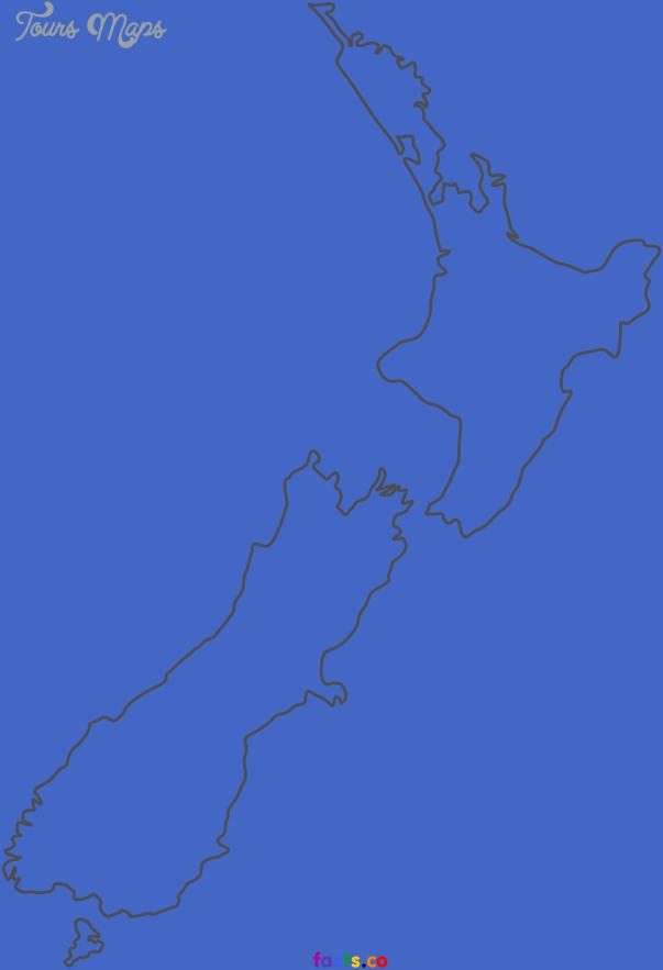 newzealandblankmap 1 Blank Map Of New Zealand