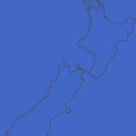 newzealandblankmap 150x150 Blank Map Of Australia And New Zealand
