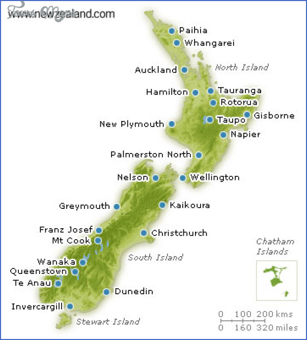 newzealandmap large en Lord Of The Rings New Zealand Map