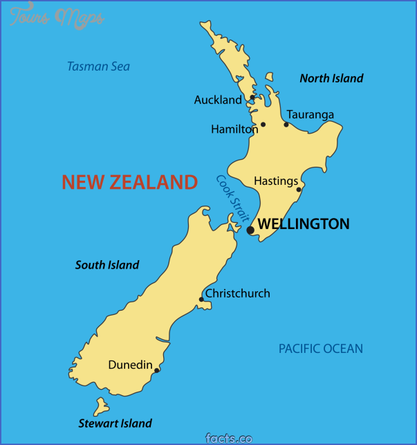 newzealandmapwithcities New Zealand Cities Map