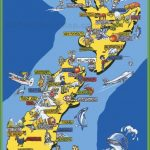 pictorial travel map of new zealand 1 150x150 A Map Of New Zealand