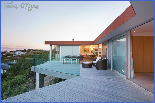 redcliffs house christchurch map architects terrace outdoor dining New Zealand Real Estate Map