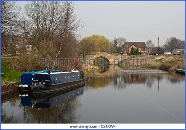 selby canal at west haddlesey yorkshire england uk c21xwf Selby Canal Fishing